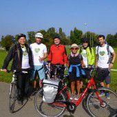 Eine besondere Radtour für Krebspatienten