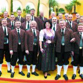 Egerländer auf Jubiläumstournee