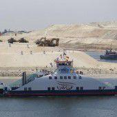 Erweiterung des Suezkanals eröffnet