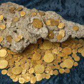 Goldschatz im Wert von  4,5 Mill. Dollar entdeckt