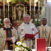 Pfarre Braz hieß neuen Pfarrer willkommen