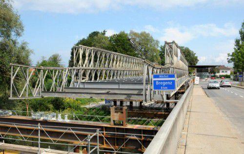 Der Brückenschlag zwischen Höchst und St. Margrethen ist bereits im Gang.