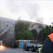 43 Verletzte bei Brand in früherem Bunker