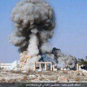 IS versendet Bilder von zerstörtem Tempel