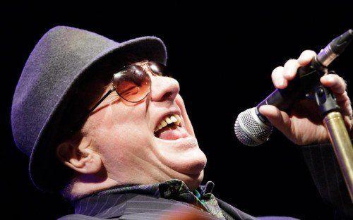 Der nordirische Musiker Van Morrison tritt an seinem 70. Geburtstag in seiner Heimatstadt Belfast auf.