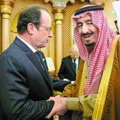Saudi-König Salman hat genug von Frankreich