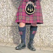 Traditioneller Schottenrock
