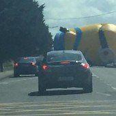 Verkehrschaos wegen Minion