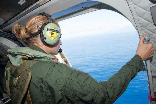 Die Boeing soll in den Indischen Ozean gestürzt sein.
