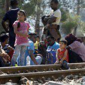 Ziel der Flüchtlinge ist EU