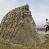 Kunst, die auf Sand gebaut ist