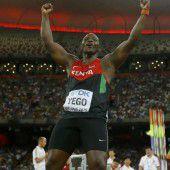 Gold und Doping für Kenia