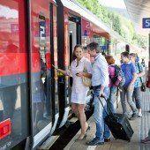 Beste Noten für Zugpersonal
