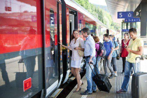 Die Vorarlberger sind laut repräsentativer Umfrage mit der Bahn und ihrem Angebot durchwegs zufrieden.