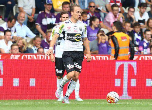Dominik Hofbauer ieferte die Torvorlage.