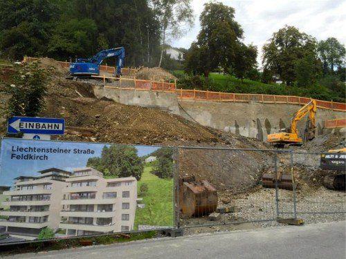 Drei Gebäude mit 24 Wohnungen werden gebaut.