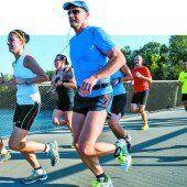 Probelauf für das große Marathon-Spektakel