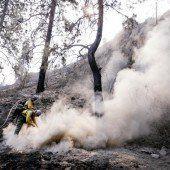 Washington kämpft weiter gegen Brände an