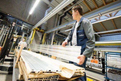 Viele Vorarlberger Industrieunternehmen (Bild: Collini) haben sich in Energieeffizienznetzwerken organisiert.VN/Stiplovsek