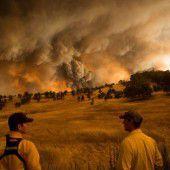 Schwere Waldbrände