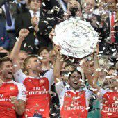 Arsenal gewinnt wie 2014 Community Shield