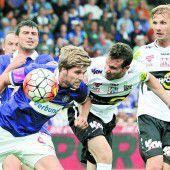 Altach bleibt auch im zweiten Saisonspiel ohne Punkte