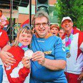Herzlicher Empfang der erfolgreichen Vorarlberger Special-Olympics-Teilnehmer