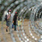 Zaun gegen Flüchtlinge