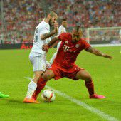 Müde Bayern holen Audi-Cup