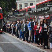 Streik legt Londoner U-Bahn lahm