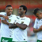 Sieg dank Sambafußball