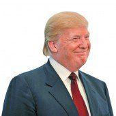 Donald Trumps Frisur sorgt für Spott im Netz