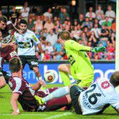 SCR Altach feiert den ersten Saisonsieg in der Bundesliga
