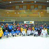 Nachwuchs-Eishockeycamp in Dornbirn ist gut besucht