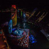 Die Opernproduktion Turandot startet nun auf der Bregenzer Seebühne in die letzte Festspiel-Woche