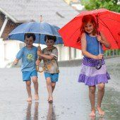 Willkommener Regen