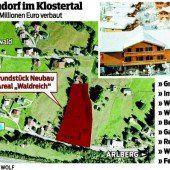 23 Millionen für neues Feriendorf im Klostertal