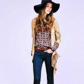 Lässiger Cowgirl-Look