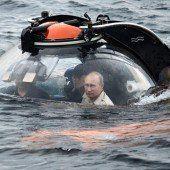 Präsident Putin ging auf Tauchstation