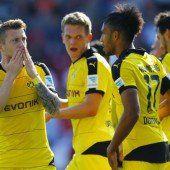 Dortmund jubelt bei Heimspielpremiere von Ingolstadt