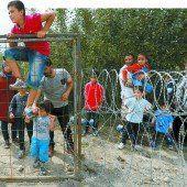 Ungarn macht die Grenze dicht