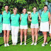 Golf-Damen blühen auf