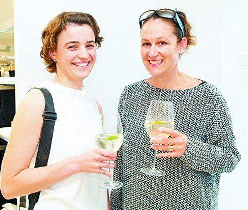 Für das Raumkonzept zuständig: Susanne Maier und Katja Scharnagel (Ladenbau Knoblauch).