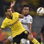 Dortmund schießt WAC 5:0 raus