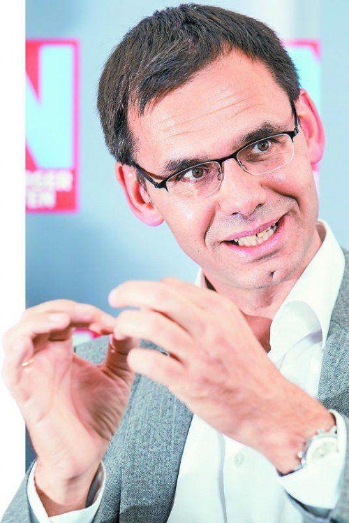 In der Früherziehung und Sprachförderung sieht Landeshauptmann Markus Wallner einen wichtigen Schwerpunkt.