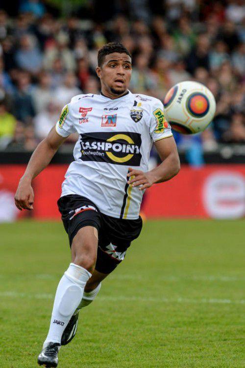 Ismael Tajouri erzielte in 28 BL-Spielen für Altach vier Tore.