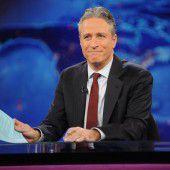Jon Stewart moderiert letzte Daily-Show