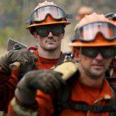 USA: Waldbrände noch  immer außer Kontrolle