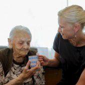 Pflege Oma, solange ich es kann