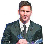 Messi ist Fußball-König von Europa